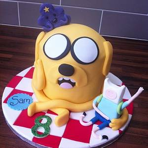Adventure Time - Cake by Licky Lips Cakes