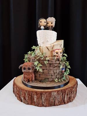 Labyrinth Wedding Cake - Cake by hscakedesign