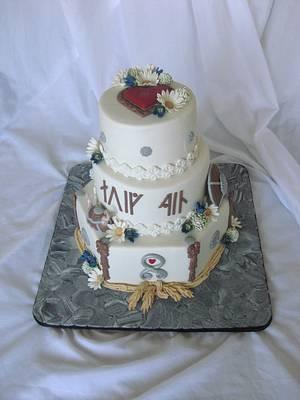 Wiking wedding - Cake by Trine Skaar