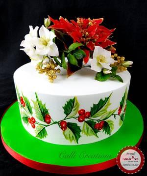 Traditional Christmas Cake  - Cake by Calli Creations