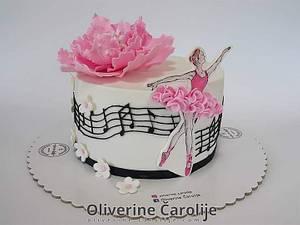 Ballerina Cake - Cake by Oliverine Čarolije