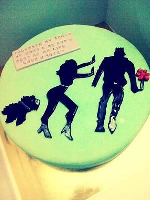 Story! - Cake by TheCupcakeShop