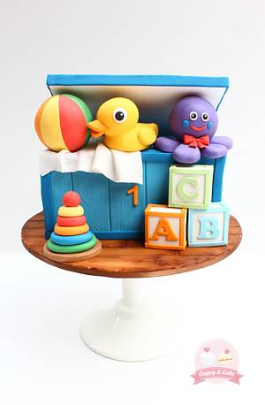 Toy box cake - Cake by Cuppy & Cake