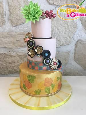 Couture Cakers Collaboration : Geisha dress - Cake by Alexandra Smadja (Ma Boîte à Gâteau)