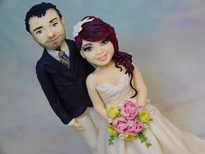 Wedding topper - Cake by Sladky svet