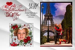 Love in Paris Sweet Valentine Collaboration2017 - Cake by LonsTaartCake