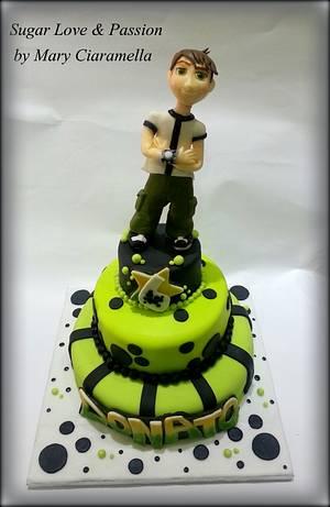 Ben 10 birthday cake - Cake by Mary Ciaramella (Sugar Love & Passion)