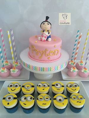 Despicable Me Agnes Cake - Cake by Oven Couture