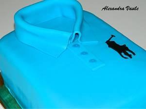 Polo shirt cake - Cake by alexandravasile