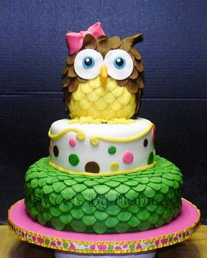 Who's Turning 1? - Cake by Sweets By Monica