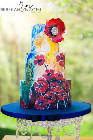 In Their Honor- A Memorial Day Collaboration - Cake by Rebekah Naomi Cake Design
