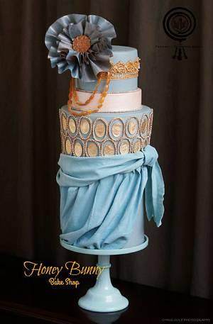 Lady Edith Downton Abbey Collaboration - Cake by Honey Bunny Bake Shop