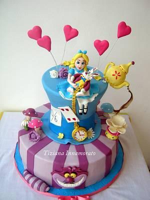 Alice in the wonderland - Cake by Tiziana Inn