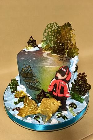 Goldfish - Cake by Oksana Kliuiko