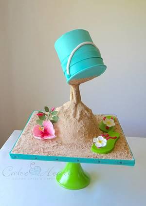The beach! - Cake by Cake Heart