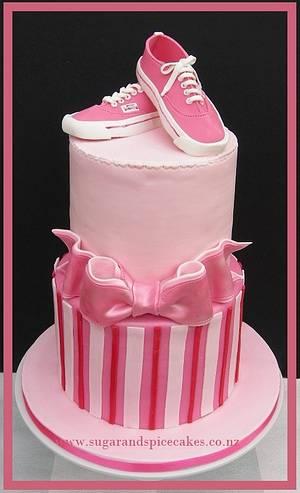 Vans Shoes Cake - Cake by Mel_SugarandSpiceCakes