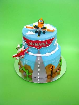 Disney planes cake - Cake by Dzesikine figurice i torte