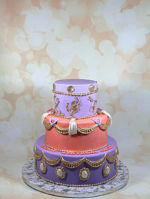 royal birthday cake - Cake by soods