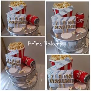 Cinema cake 🎬❤️ - Cake by Prime Bakery