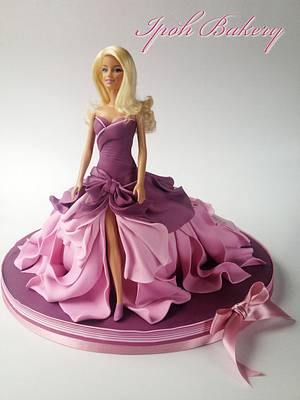 Barbie Doll Cake - Cake by William Tan