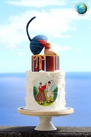 Bailinho da Madeira - Madeira Island Folklore - Cake by Maria João Bolos Artísticos