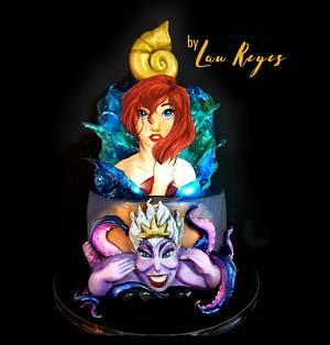 Little mermaid cake - Cake by Laura Reyes