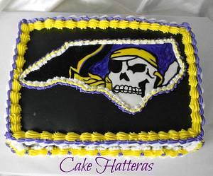 Argh! - Cake by Donna Tokazowski- Cake Hatteras, Hatteras N.C.