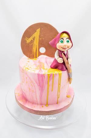 Masha's art  - Cake by Art Bakin'