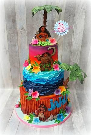 Vaiana cake - Cake by Sam & Nel's Taarten