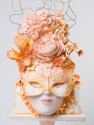 Summer face - Cake by THE BRIGHTON CAKE COMPANY