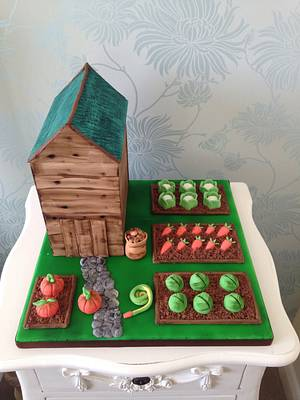 Allotment cake - Cake by Cake Love