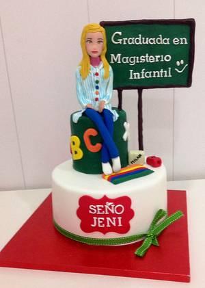 Jeni Cake - Cake by Ana
