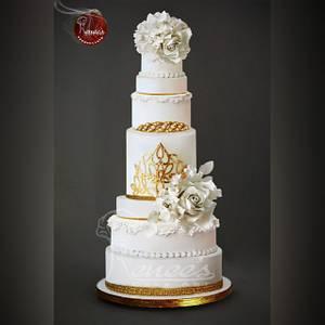 Wedding Cake By Purbaja B  - Cake by Purbaja B Chakraborty