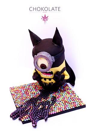 Luk at tu: BatMinion! - Cake by ChokoLate
