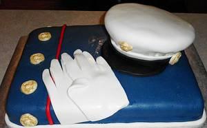 Marines Cake - Cake by Carrie Freeman