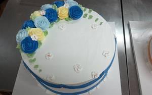 rose cake - Cake by fantasticake by mihyun