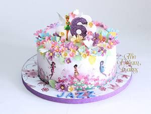 Tinkerbell Garden - Cake by Ashwini Sarabhai