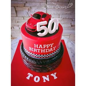 Ferrari Italia Topper Cake - Cake by Nicholas Ang