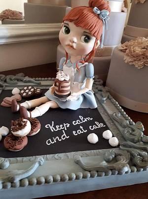 The Baker - Cake by Orietta Basso