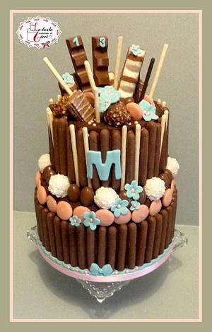 "Chocolate cake - Cake by ""Le torte artistiche di Cicci"""