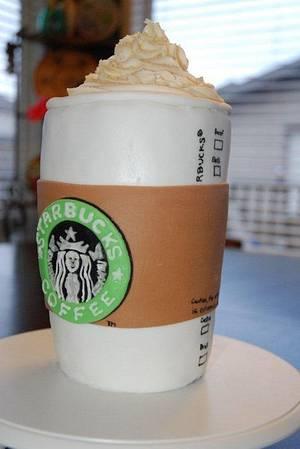 Starbucks - Cake by Larissa
