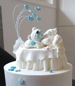 Little polar bear cake topper - Cake by Clara