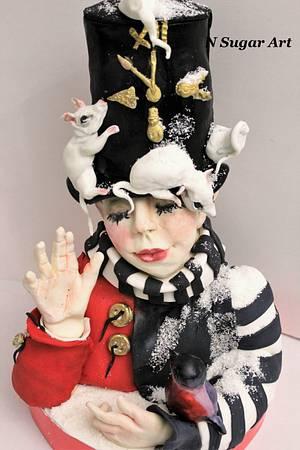 Magic Year - Cake by N SUGAR ART