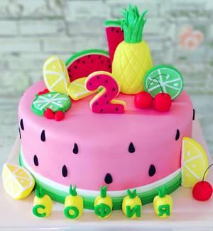 Tutti frutti - Cake by the Cake