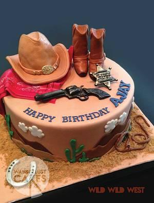 Wild Wild West - Cake by Wanderlust Cakes