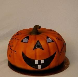 Halloween pumpkin - Cake by Anka