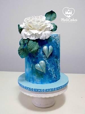 Blue... - Cake by MOLI Cakes