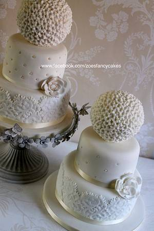 Fancy spherical wedding cake design + tutorial! - Cake by Zoe's Fancy Cakes