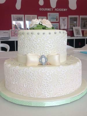 Wedding Cake - Cake by ladygourmet