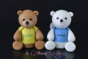 Bear Toppers - Cake by Mommy Sue